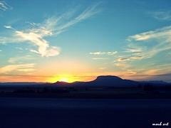 *:)* (moun2) Tags: sunset mountain art nature landscape algeria sony algerie thevest tebessa