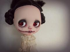 an unusual child (TuSabesBlythe) Tags: dead doll zombie blythe custom takara ghostie deadthing mobetta mobettablythe mobettacustom formerlyslyfox weeelusivemuses