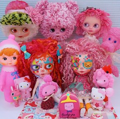 A Cluster of Pink