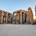 The Courtyard of Ramses II - Luxor Temple