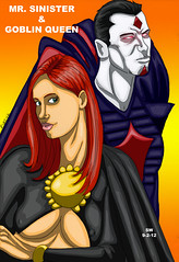 madelyne&sinister (man0ftomorrow) Tags: queen goblin inferno goblinqueen mrsinister