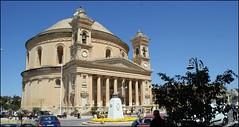 Rotunda von Mosta (tor-falke) Tags: church europa europe sony kirche malta architektur rotunda bauwerk église mosta sonyalpha alpha200 torfalke flickrtorfalke alpha200230 rotundesantamarijaassunta