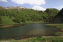 Lago Nero - Italie (Philis.Nat) Tags: montagne noir lac neige printemps italie randonne pche