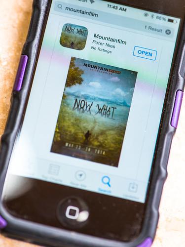Mountainfilm Smartphone App