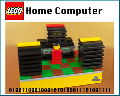 Home Computer - Lego set 1976 (Peter von Kappel) Tags: classic vintage computer lego retro 1976 homecomputer