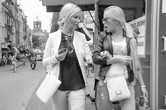 Ohhhh (105mm) Tags: street city people woman girl amsterdam fashion bike outfit women pretty style streetwear mensen streetfashion streetstyle
