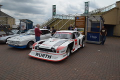 Doncaster Classic Car and Bike Show 2014 (Draco2008) Tags: ford capri doncaster classiccarshow zakspeed doncasterracecourse