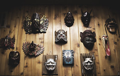 mask (Ben Garcia Photography) Tags: art halloween tattoo photography japanese scary mask artistic horns masks horror devil demonic product parlor satanic demons
