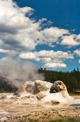 (warmsummernight) Tags: oldfaithful yellowstonenationalpark yellowstone geology geothermal oldfaithfularea