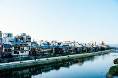 Gion- Kyoto () Tags: geishas gion kyoto kamogawa river japan ancient tea house evening nikond300s vsco pristine
