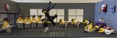 Ballet Dance Studio (Laurene J.) Tags: lego legoballet blackswan legodance ballet swan swanlake legoswanlake danceclass stretching legomirror