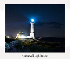 Corsewall Lighthouse (kellywagnerphotography) Tags: corsewall lighthouse stranraer kirkcolm dumfries galloway paintingwithlight college glasgowphotographer onourtravels nikonphotographer scotland night nighttime stars longexposure seascape wigtownshire