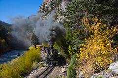 Cascade Canyon (joemcmillan118) Tags: colorado cascade dsng durangosilverton narrowgauge photocharter animasriver steam k28 473