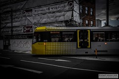 ManchesterVictoria2016.10.09-23 (Robert Mann MA Photography) Tags: manchester manchestervictoria manchestercitycentre greatermanchester england victoria victoriastation manchestervictoriastation manchestervictoriarailstation victoriarailstation city cities citycentre architecture summer 2016 sunday 9thoctober2016 manchestermetrolink metrolink trams tram nightscape nightscapes night light lighttrails