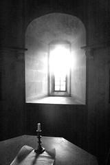 magna carta (diminoc) Tags: magnacarta lacock wiltshire bnw blackandwhite monochrome monocolour window backlight candle parchment