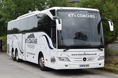 BF16XRS  KT's Coaches, Kendal (highlandreiver) Tags: bf16xrs bf16 xrs kts coaches kendal cumbria mercedes benz tourismo bus coach appleby railway station