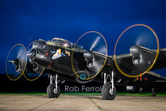 4933_Lancaster (Rob Ferrol) Tags: lancaster bomber aircraft historic iconic heavy wwii world war two royal air force raf command east kirkby lincolnshire airfield night moody atmospheric evening dusk rob ferrol copyright photographer worksop notts nottinghamshire merlin engines four restoration period bird