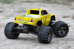 IMG_0340 (lachlansear) Tags: traxxas stampede monstertruck 4x4 4wd radiocontrol remotecontrol rc yellow