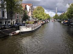 Hausboot in Amsterdam (Photoauge.) Tags: amsterdam grachten niederlande makewithiphone7 nl tag347 365fotosorg