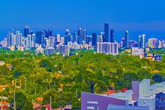 View of the skyline of Miami, Florida, USA / The Magic City (Jorge Marco Molina) Tags: miami florida usa city cityscape downtown centralbusinessdistrict skyscraper architecture building highrise residential commercialproperty density southflorida miamidadecounty cosmopolitan metropolitan metro metropolis realestate