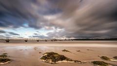 First Autumn storm (Stefan Sellmer) Tags: schleswigholstein longexposure beach storm balticcoast germany d750 outdoor autumn balticsea kiel clouds deutschland de