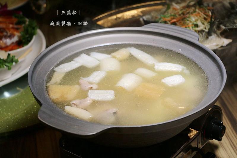 五葉松庭園餐廳樹林美食077