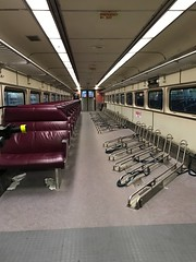 Bicycle car (avatarsound) Tags: seats racks travel train commuter commute commuters boston bicycles bicycle bikes bike mbta