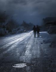 Iskaldt (anitanilsen1) Tags: kristiansand lund vestagder norge norway vinter winter snø snow par couple mennesker people