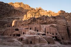 Petra burials (2) - Jordan (M. Khatib) Tags: petra jordan tombs burial ancient antiquities nabatean desert unesco heritage