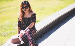 Tricia (Rein Domingo) Tags: nikon d810 portrait woman asian tricia petite natural light ambient outdoor 85mm
