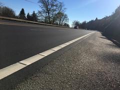 New striping on Highway 30-10.jpg (BikePortland.org) Tags: bikelanes dirty30 highway30