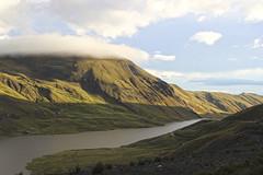 Camino a la paz (Imthearsonist) Tags: incachaca lapaz bolivia hills sunset nature landscape clouds water reservaincachaca paisaje naturaleza