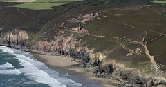 Wheal Coates tin mine in Cornwall - aerial image (John D F) Tags: whealcoates tinmine cornwall nationaltrust unesco aerial aerialphotography aerialimage aerialphotograph aerialimagesuk aerialview
