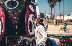 Venice (josieonetooth) Tags: ifttt 500px graffiti colors art street los angeles color blue beach seaside ocean sea seascape water sky california sun summer travel light beautiful city beauty day venice la ca