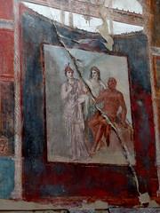 Sacello degli Augustali, Herculaneum - Scavi di Ercolano (Anne O.) Tags: wandmalerei fresko scavidiercolano herculaneum kampanien italien
