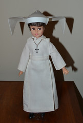 The Flying Nun Gets a Hat (trev2005) Tags: hasbro sally field flying nun doll figure 1967