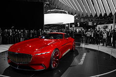 Vision Mercedes-Maybach 6 (Joseph Trojani) Tags: mercedes maybach voiture concept conceptcar vision salondelautomobile paris lectrique nikon d7000 auto show motor motorshow vhiculelectrique electricvehicle