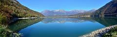 Prima che arrivi il vento (♥danars♥) Tags: acqua bellunese lago lagodiscroce dolomitibellunesi autunno riflessi montagne alpago explored