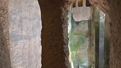 DSCF0058 glise monolithe d'Aubeterre-sur-Dronne (Charente) (Thomas The Baguette) Tags: aubeterresurdronne charente france monolith cave church tympanum glise glisenotredame saintjacques caminodesantiago sexyguy chateau cloister minimes mithra mithras cult