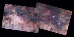 2016 mosaic M16-M17 + Scutum star cloud + M11 + M26  with Zenit Jupiter 11-A 135mmf4 lens + 550D (EXPLORE 02/11/2016) (rocco parisi) Tags: roccoparisi astronomia astronomy dslr 550d rebelt2i canon550d t2i sky astrophotography universo universe eos550d deepspace deepsky sicily sicilia nebrodi vialattea milkyway zenit giove11a jupiter11a 135mm nebulosa nebulose nebula nebulae ammasso cluster nebulosaoscura darknebula m11 m26 m16 m17 astrometrydotnet:id=nova1792747 astrometrydotnet:status=solved wildduckcluster ngc6705 ngc6694 ngc6664 ic1287 ic4715 omeganebula ngc6618 eaglenebula ngc6611 ngc6604 ic4701