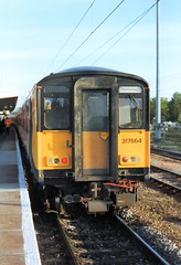 317664 (R~P~M) Tags: train railway electric emu multipleunit wagnrailway nationalexpress 317 peterborough cambridgeshire cambs england uk unitedkingdom greatbritain