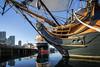 Still Morning Air (George_Adkins) Tags: maritimemuseumofsandiego maritimemuseum sandiego sandiegobay pacificocean hmssurprise starofindia embarcadero stillwater