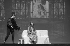 16962 - La fata turchina e il Corvo (Diego Rosato) Tags: pinocchio fata turchina corvo crow spettacolo show teatro theater bianconero blackwhite nikon d700 85mm rawtherapee