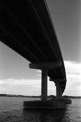 1522 (The Dent.) Tags: nikon f3 kodakhawkeyesurveillancefilm 2485 hc110 dilution b 6 mins 28mm nikor prime goolwah south australia
