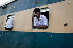 . (Joanna Mrowka) Tags: train street srimangal bangladesh man life