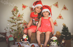 DSC_0197-Edit (Klicked Photography) Tags: christmas matte warm hazy xmas red green snow lights tree santa reindeer decorations merrychristmas merryxmas northpole love kids children child bear teddy cuddles sisters vignette nikon d5100 faded