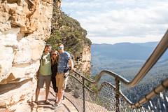 Step Up (Pamela Saunders) Tags: hike bluemountains australia leura travel exploreoz stairs scenery