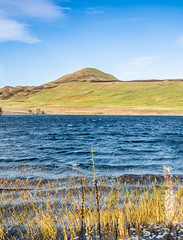 1 West Lomond (daedmike) Tags: harperleasresevoir westlomond hill peak loch resevoir pond reeds grass fife scotland