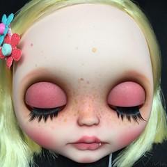Blythe custom #116 simply love me ( vivia custom dolls and accessories ) Tags: blythe doll custom sweet freckles lips eye eyechips eyechipsforblythe simply love me vampire