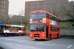 First Manchester 3218 (C218 CBU) (SelmerOrSelnec) Tags: firstmanchester leyland olympian northerncounties c218cbu stockport gmt bus